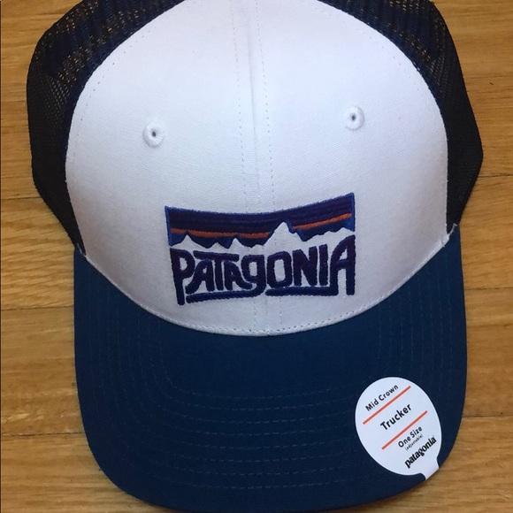 27250cad406 Patagonia Fitz Roy Frostbite Trucker Hat New. M 5bf17e0faa57192e0567c3e0